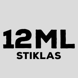 12ml stiklinis