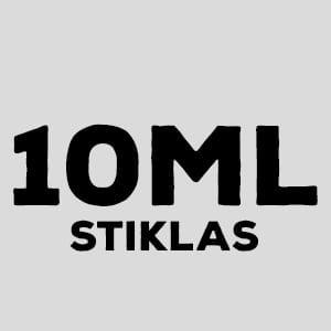 10ml stiklinis